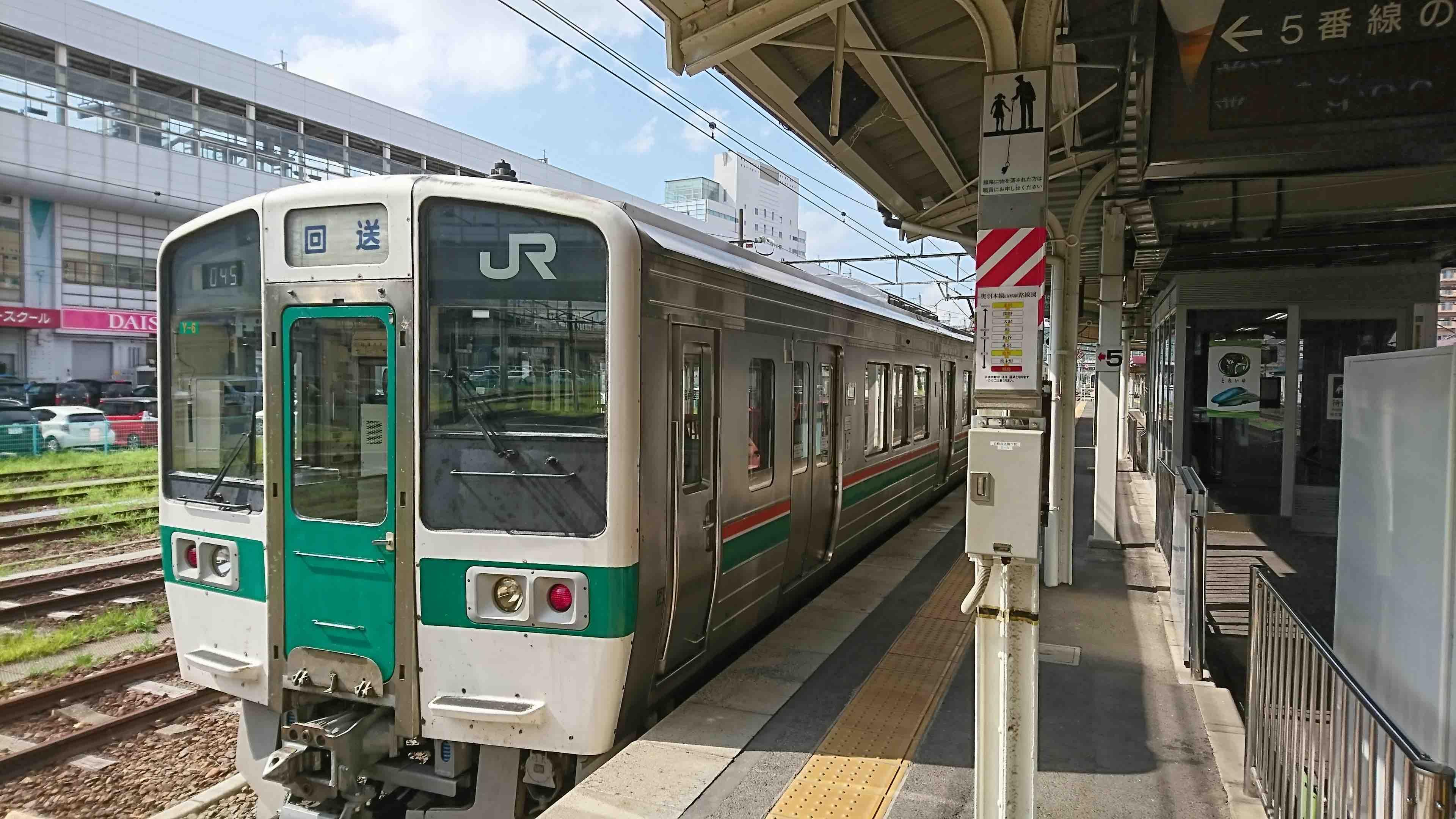 山形線(奥羽本線) 福島駅ホー...